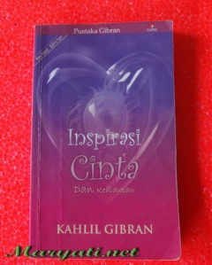 Inspirasi Cinta Dan Kehidupan Pustaka (Kahlil Gibran)