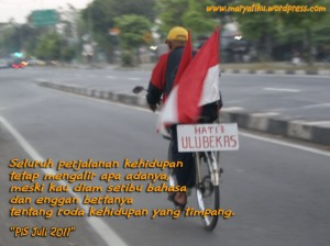 Hati-hati ulu bekas (Ring Road Barat Yogyakarta)