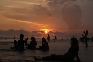 Olenka, A twilight Sun