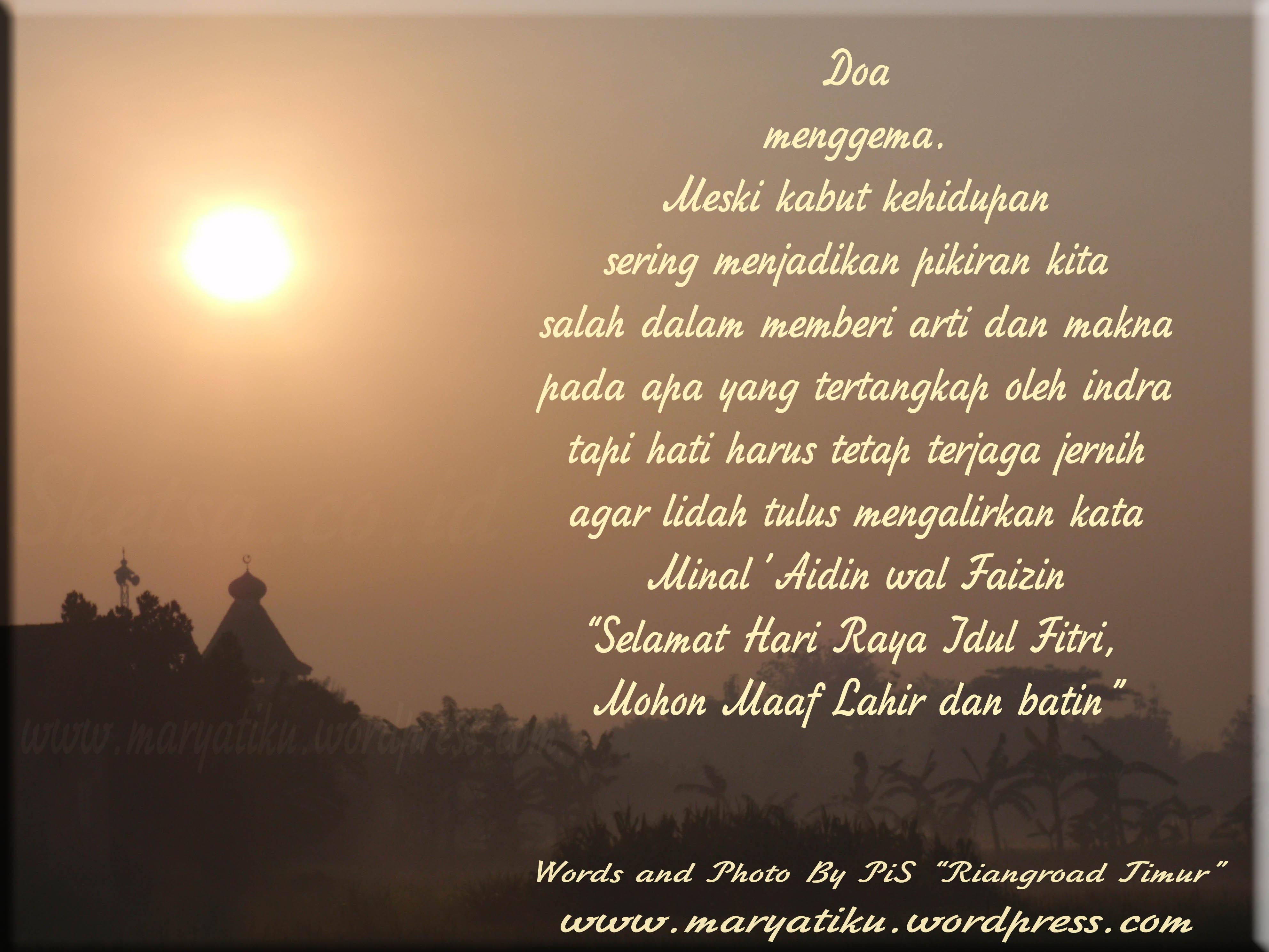 Image Result For Kata Kata Ucapan Selamat Hari Raya Idul Fitri