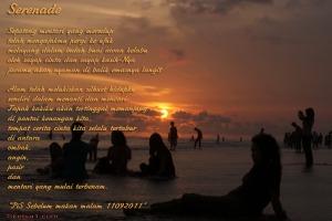 Serenade untuk Maryati di Pantai parang tritis
